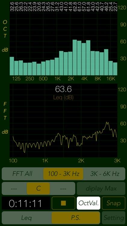 Sound Level Analyzer screenshot-3