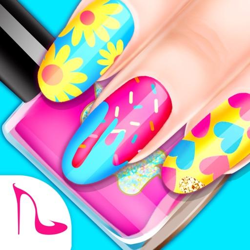 Nail Artist: Girl Salon Games Icon