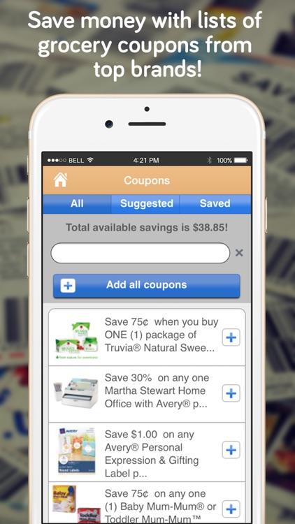 Shopper No Ads - Grocery List screenshot-4