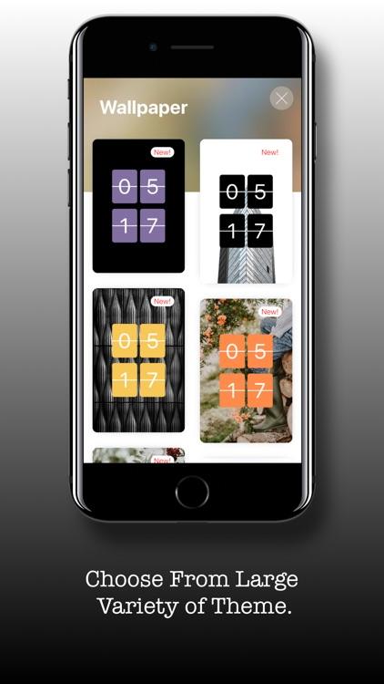 Flip Clock - Digital Clock screenshot-7