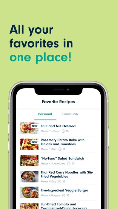 Forks Plant-Based Recipes Screenshots