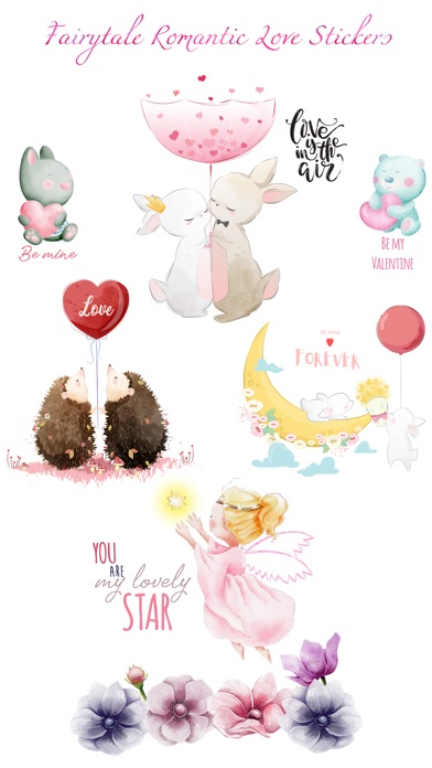 Fairytale Love Stickers screenshot 1
