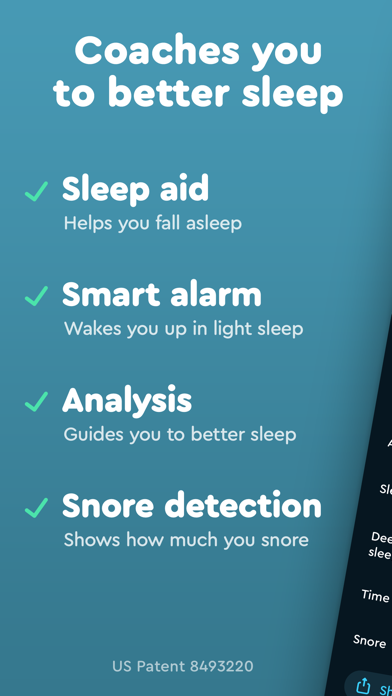 Sleep Cycle review screenshots