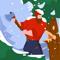 App Icon for Idle Lumberjack 3D App in Denmark IOS App Store