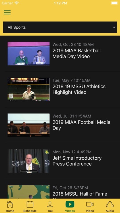 MSSU Athletics screenshot-3