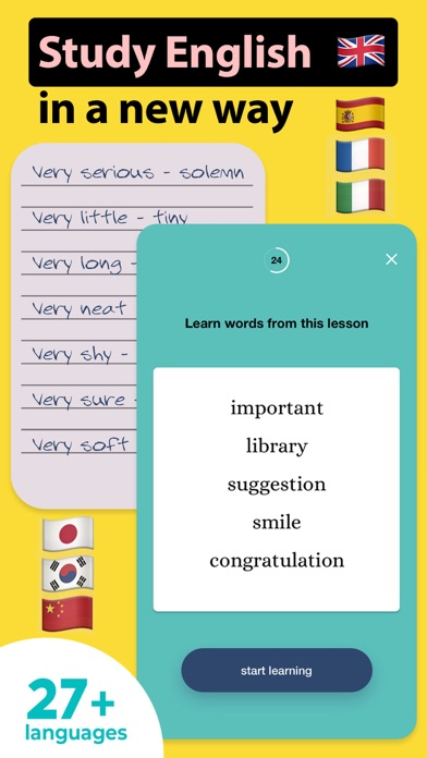 Words Booster: Learn Languages Screenshot