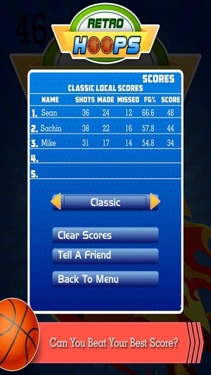 Retro Hoops Basketball Shoot screenshot-3
