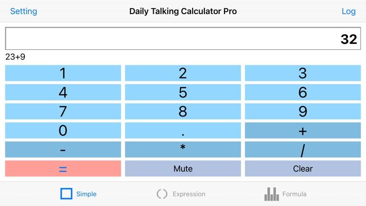 Daily Talking Calculator Pro screenshot-6