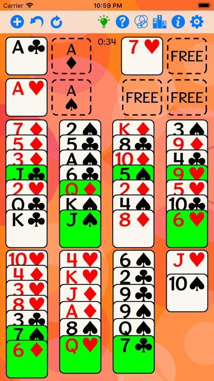 FreeCell screenshot-3