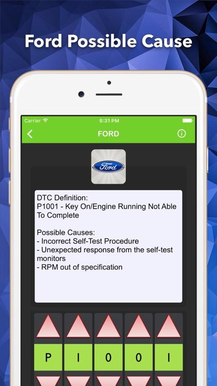 OBD2 Enhance Trouble Codes screenshot-3