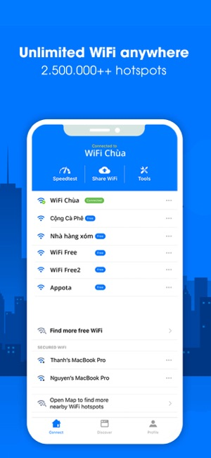 WiFi Chùa on the App Store