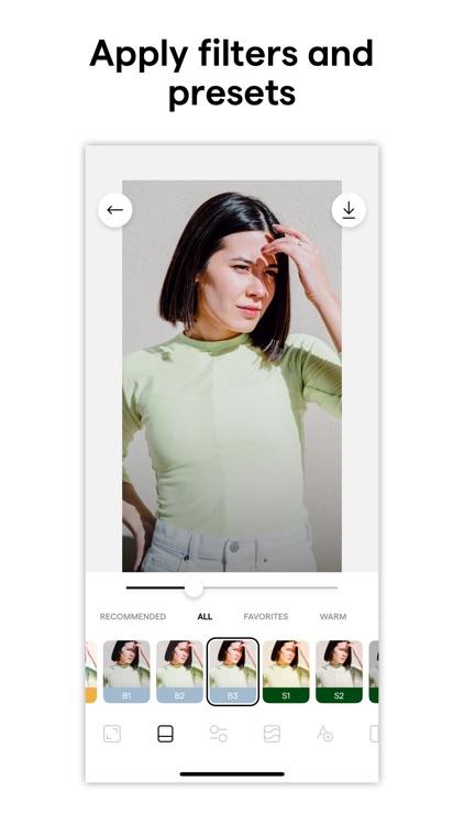 Instasize Photo Editor + Video screenshot-0