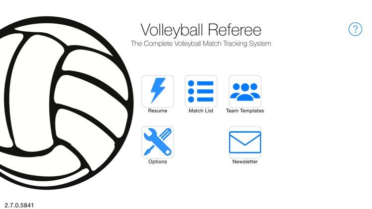 Volleyball Referee: