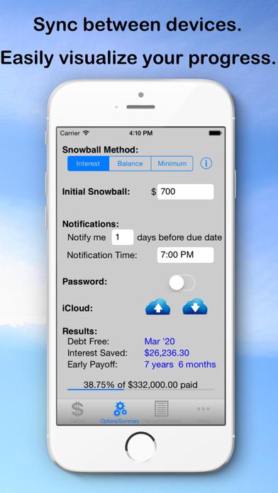 Debt Snowball Pro - Pay Debt screenshot two