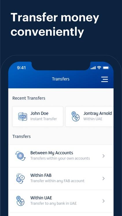 FAB Mobile Banking screenshot-4
