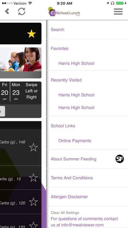 EZSchoolLunch screenshot-4
