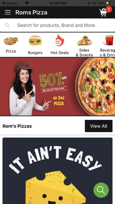 Roms Pizza screenshot 1