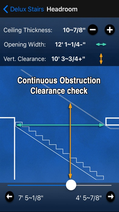 Screenshot for Delux Stairs Construction calc in New Zealand App Store