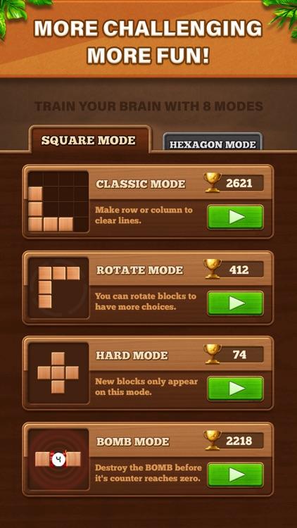 Fill Wooden Block: Cube Puzzle screenshot-3