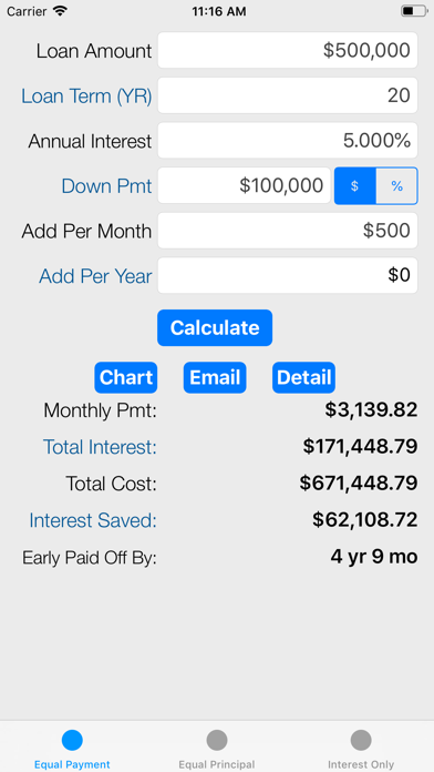 Loan Calculator - Payoff Debt