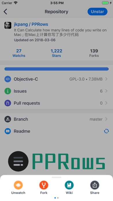 PPHub For GitHub - by Fancheng Pang - Tools Category - 42 Reviews -  AppGrooves: Discover Best iPhone & Android Apps & Games