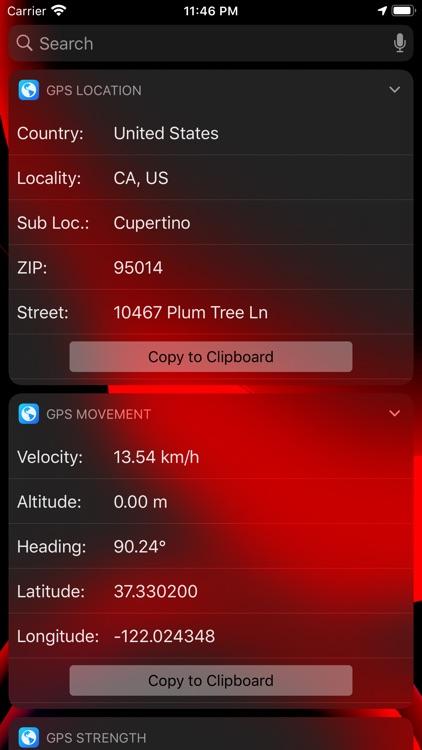 Pacific GPS Location Dashboard screenshot-3