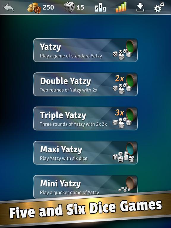 Ipad Screen Shot Yatzy Dice Master 4