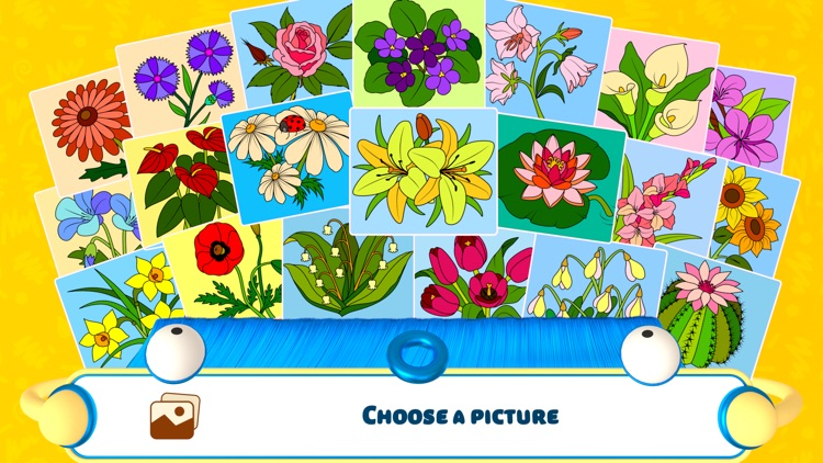 Color by Numbers - Flowers + screenshot-0