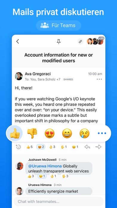 Spark - E-Mail-App von ReaddleScreenshot von 8