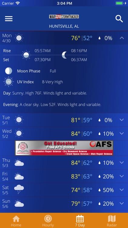 WAAY Weather screenshot-4