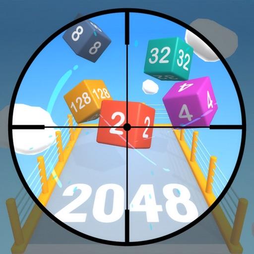 Cube Sniper 2048