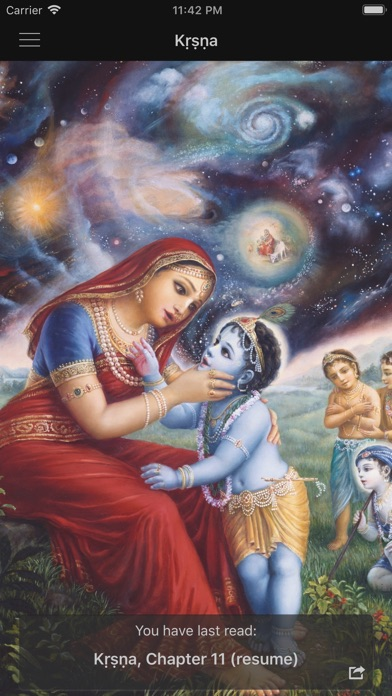 Screenshot for Kṛṣṇa in South Africa App Store