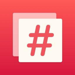 Hashtag Editor
