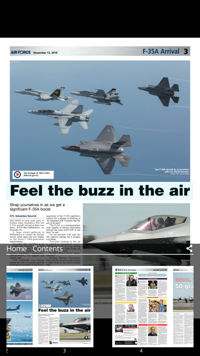 Air Force News Australia screenshot three