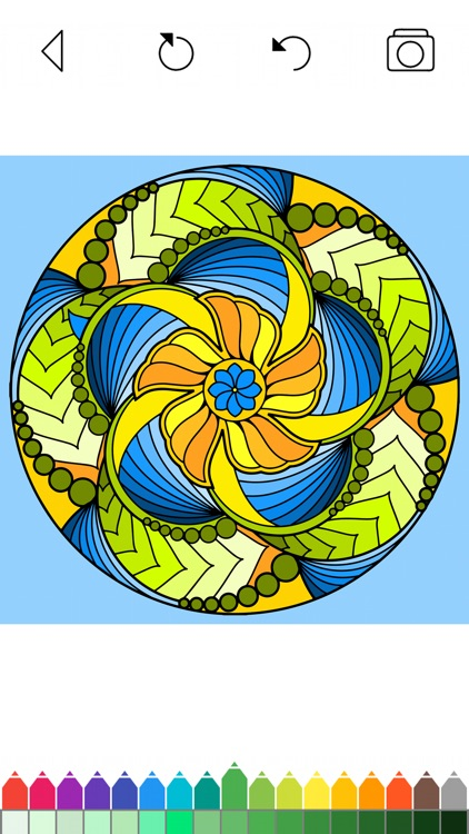 Mandala Coloring Pages Games screenshot-9