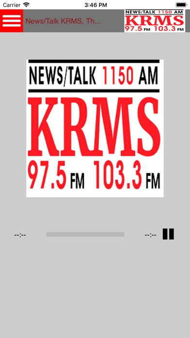 KRMS - by Krms93 5Fm - News & Magazines Category