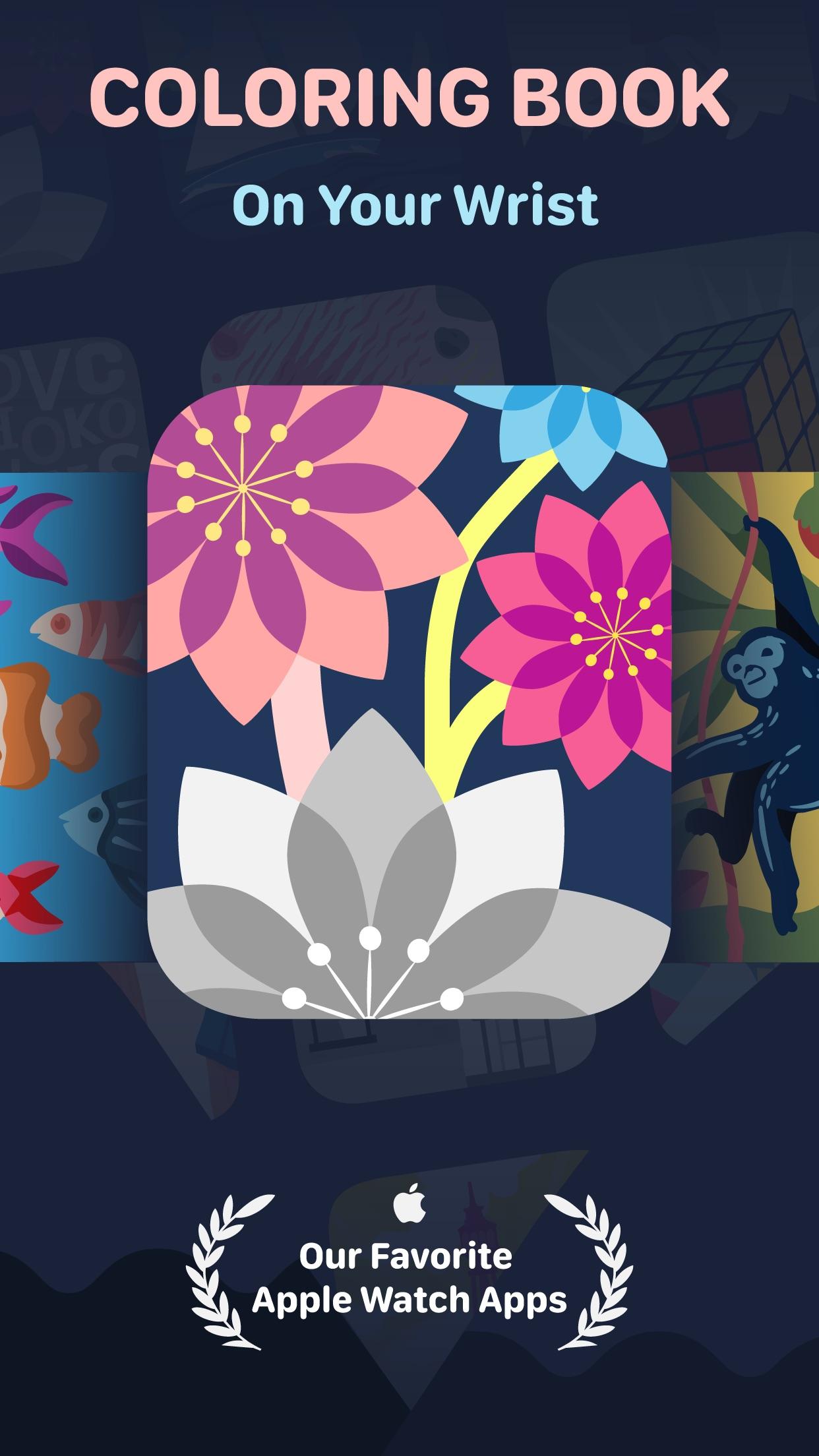 Screenshot do app Coloring Watch
