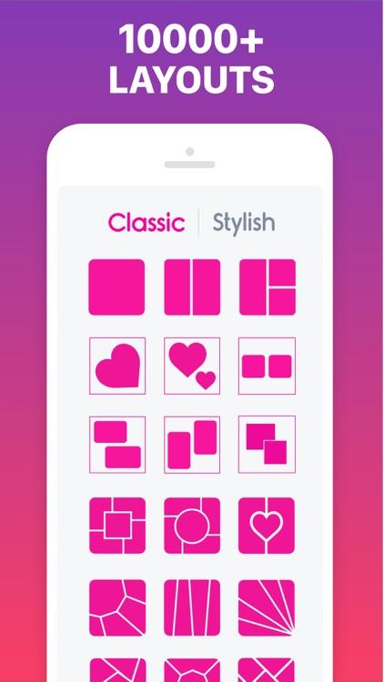 Photo Collage Maker & Pic Grid screenshot-8