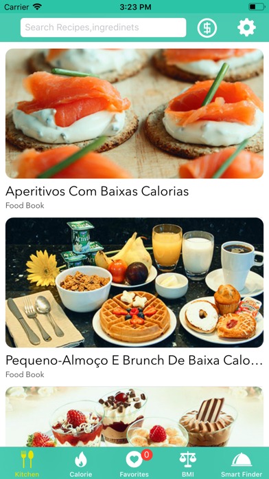 Foto do Receitas de baixa caloria