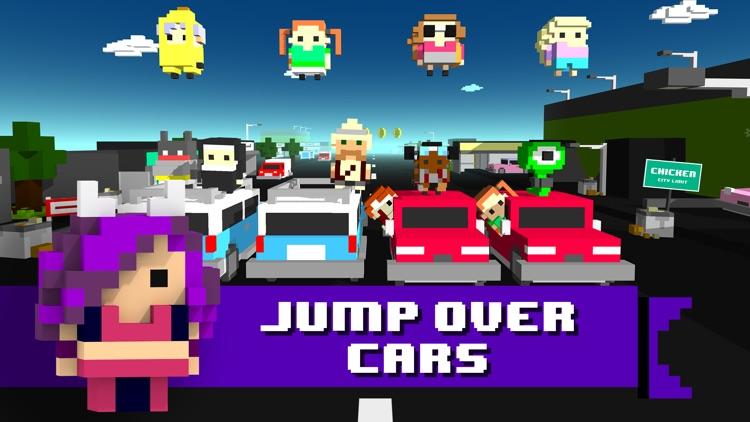 Chicken Jump - Crazy Traffic