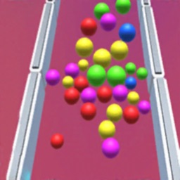 Rolling Balls Pull Rocket 3D