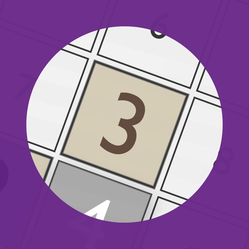 Number Place Purple