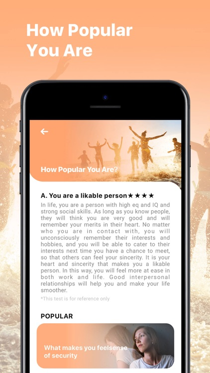Test Master - Palm, Face Aging screenshot-5