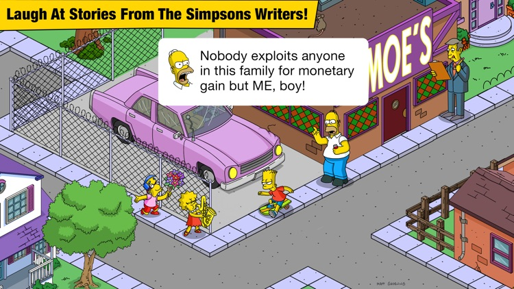 The Simpsons™: Tapped Out screenshot-4