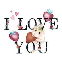 Valentine's Day Love Lettering