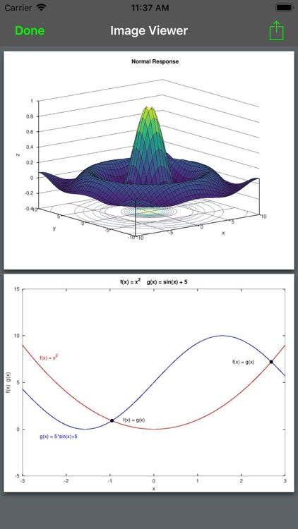 Madona: Run MATLAB/Octave code screenshot-1