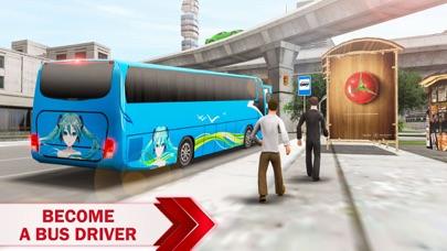 City Bus Driving Simulator 3D screenshot two