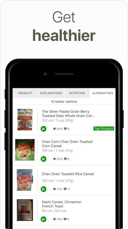 Fooducate Nutrition Tracker screenshot-6