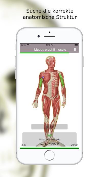 Screenshot for Anatomie Quiz Premium in Germany App Store