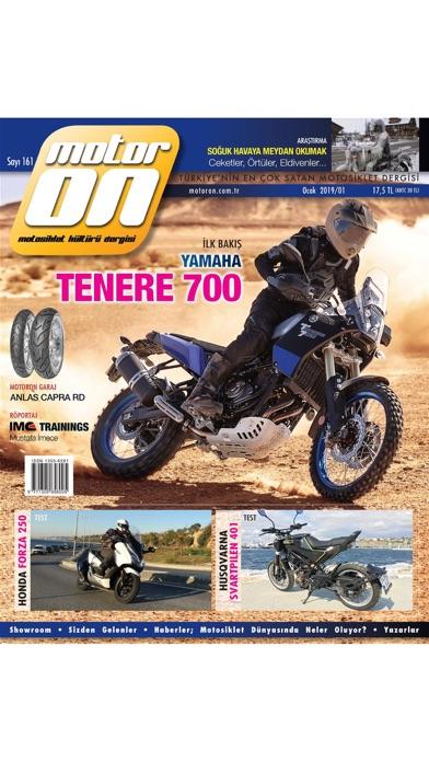 Screenshot for Motoron Motorcycle Magazine in United States App Store